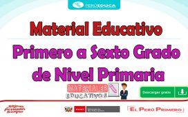 Material Educativo para Primaria