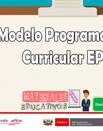 Modelo Programación Curricular EPT