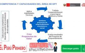 ENFOQUE Y COMPETENCIAS DEL ÁREA DE EDUCACIÓN PARA EL TRABAJO