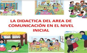 La didáctica del área de comunicación en el nivel inicial