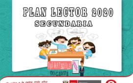 PLAN LECTOR 2020 SECUNDARIA