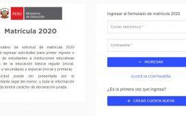 Minedu habilita plataforma virtual para solicitar la matrícula y traslado de estudiantes a colegios públicos