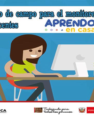 Modelo Cuaderno de campo para el monitoreo virtual a los docentes