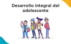 """El Ministerio de Educación, a través de la Dirección de Educación Secundaria, te invita a participar del curso virtual autoformativo """"Desarrollo integral del adolescente"""""""