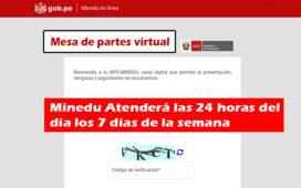 Minedu atenderá al público con mesa de partes virtual