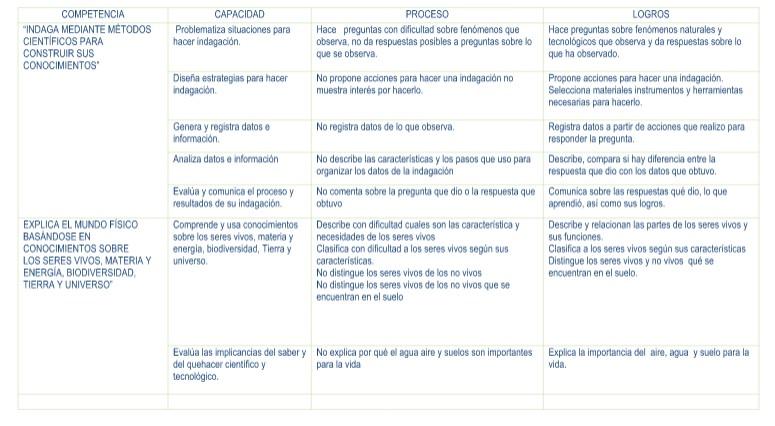 CONCLUSIONES DESCRIPTIVAS CIENCIA Y TECNOLOGIA