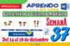 SEMANA 37 APRENDO EN CASA PROGRAMAS RADIALES: Sesiones, Guiones y Audios radiales del 14 al 18 de Diciembre