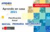Minedu| Planificación Anual 2021 Aprendo en Casa 2021