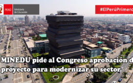 Ministro de Educación pide al Congreso aprobación de proyecto para modernizar su sector
