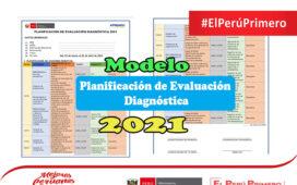 Modelo de Planificación de Evaluación Diagnóstica 2021 | Word