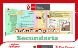 Modelos de evaluación diagnóstica para el nivel de secundaria