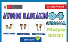 Aprendo en Casa Programas Radiales Semana 04 del 10 al 14 de mayo