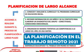LA PLANIFICACIÓN EN EL TRABAJO REMOTO 2021